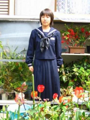 愛姫ちゃん中学校入学180406-2