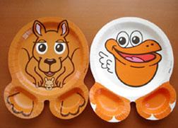 ファニーな紙皿