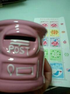 ピンクのポスト貯金箱110826_1948~0001.jpg