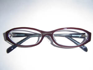 奥さんのネコメガネ