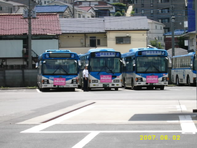 井田営業所 | 川崎市バス車両図鑑 - 楽天ブログ