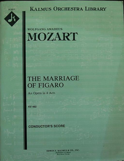 フィガロの結婚総譜