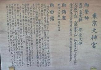 東京大神宮の由来