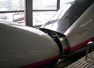 新幹線のチュウ