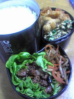 0526お弁当もボリュームあるね(@@ えらい!!.jpg