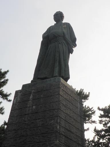 坂本龍馬銅像 桂浜