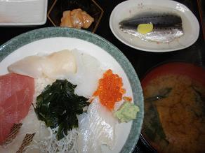 海鮮丼 豊浜市場食堂
