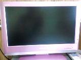 ピンクのテレビ