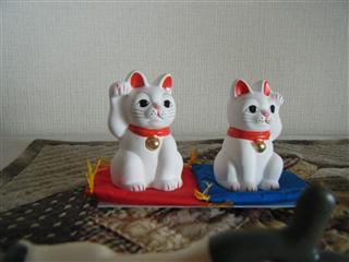 世田谷ボロ市名物招き猫