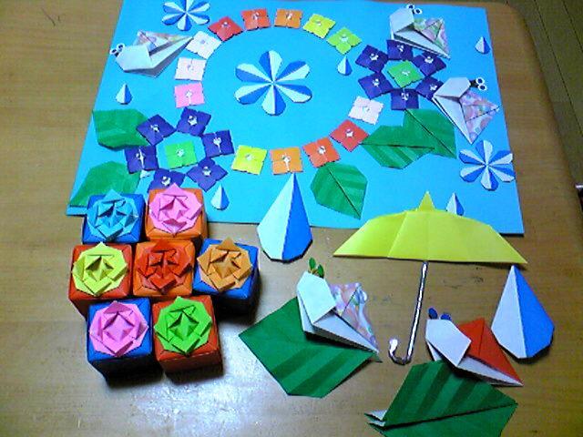 折り紙 三月 折り紙 : 折り紙師匠 | 四葉のクローバー ...