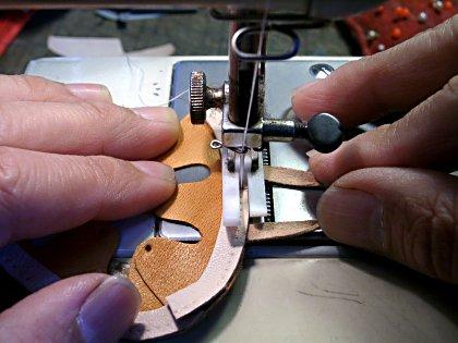 ハンモック縫う