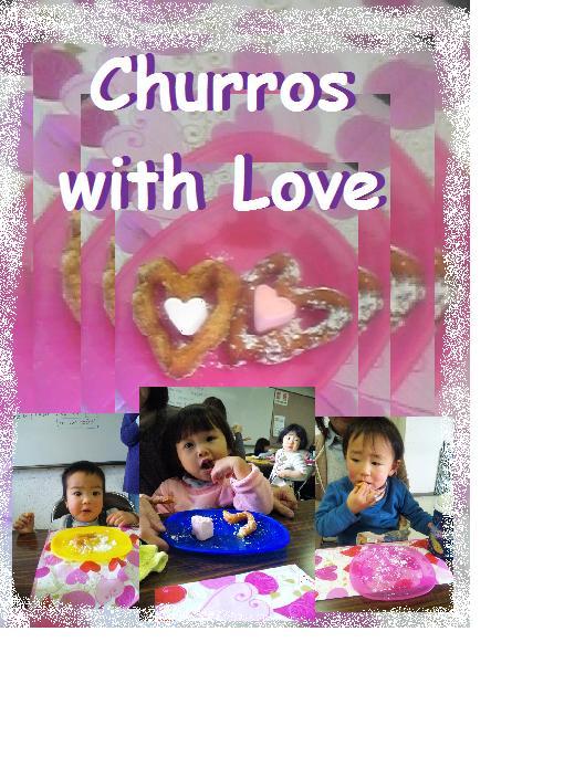 20110204 Valentine party churros