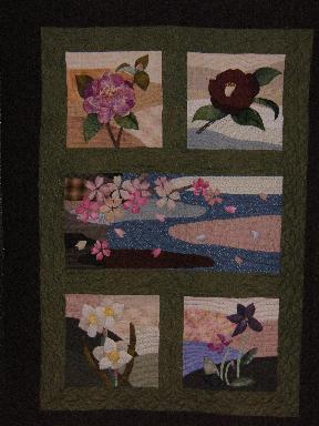 タペストリー春の花ー2.JPG
