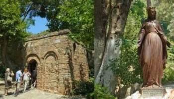 トルコエフェソス聖母マリアの家