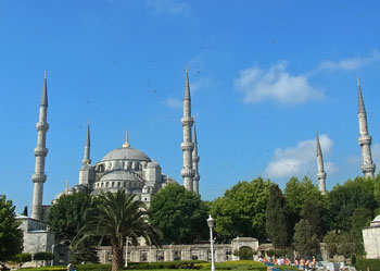 トルコイスタンブールブルーモスク1