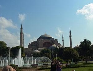 トルコイスタンブールアヤソフィア