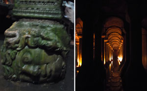 トルコイスタンブール地下宮殿2