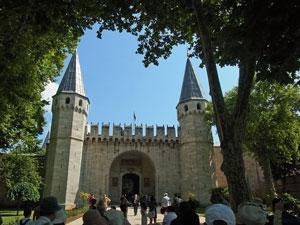 トルコイスタンブールトプカプ宮殿1