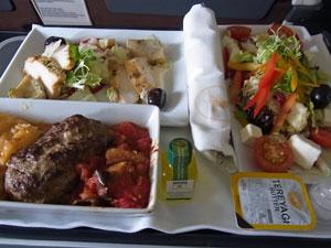 トルコイスタンブール機内食