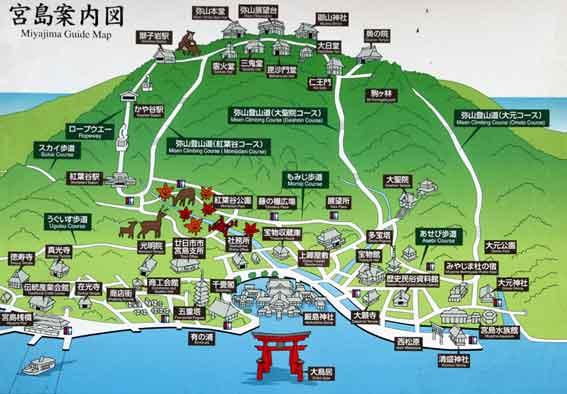 宮島マップ-2♪
