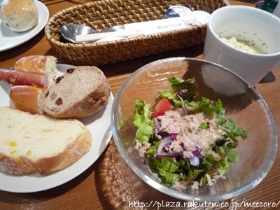 サラダ&スープ&パン