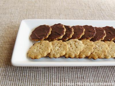 全粒粉のチョコクッキー