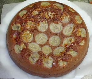 バナナ ケーキ フライパン