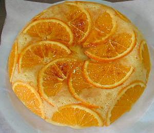 オレンジケーキ