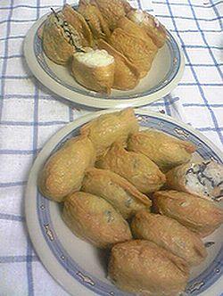 0620いなり寿司のお弁当で美味しそう~(〃▽〃).jpg