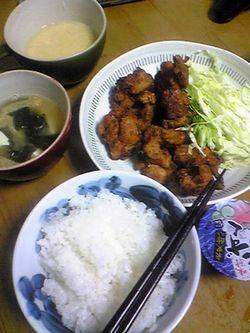 0515男料理 ご飯 から揚げのコツをつかめた~!.jpg