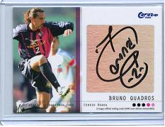 06TEセレッソ大阪 ブルーノ・クアドロス 直筆サインカード