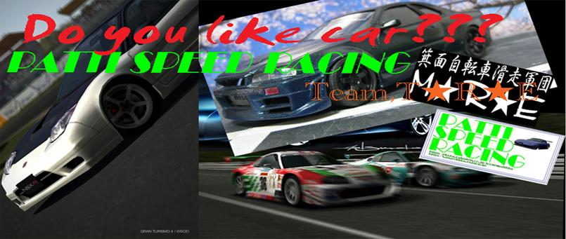 PATTI SPEED RACING~Team,T★R★E