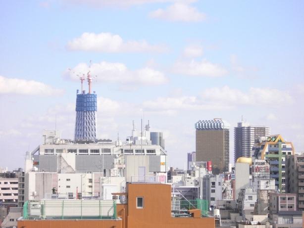 東京スカイツリー11月