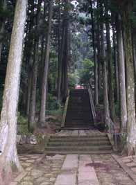 天国への階段:元写真:箱根神社