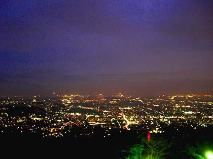 湘南平からの夜景