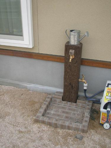M様邸立水栓