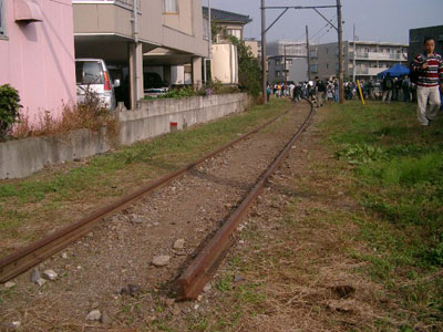 ここから線路が始まる