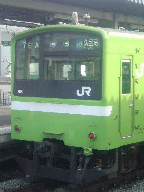 JR大和路線用と共通運用の201系
