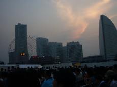 夕暮れの横浜ランドマーク・タワー♪