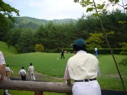 敷島カントリー倶楽部でプレイするおじさんたち
