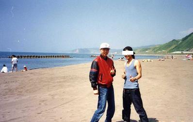 浜辺にて.JPG