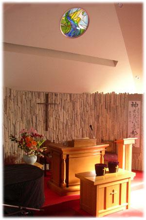 赤羽教会礼拝堂