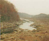 ポトマック川の上流